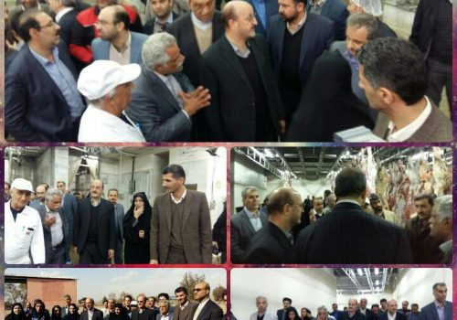 بازدید استاندار قزوین از شرکت مهرگستران سیمرغ زیاران